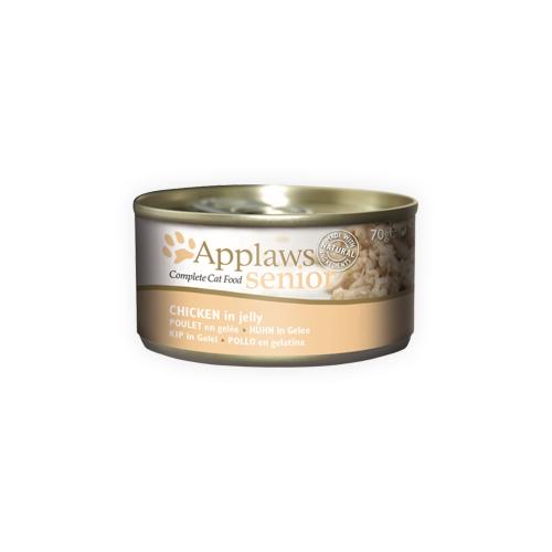 Applaws Senior Katzenfutter - Dosen - Chicken - 24 x 70 g
