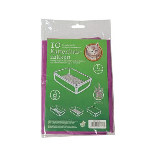 Boon Bio-Katzenklosäcke - Lavendel