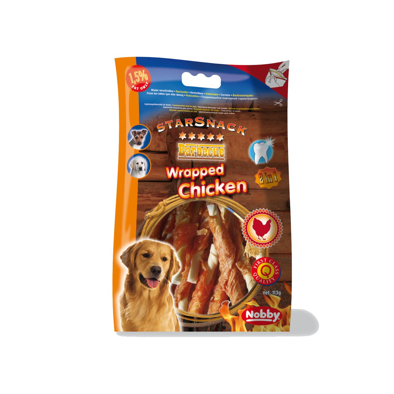 Nobby Starsnack BBQ - Wrapped Chicken