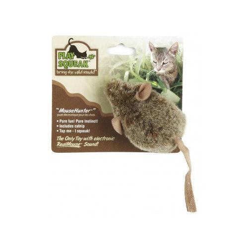 Play N Squeak Katzenspielzeug - Mouse Hunter