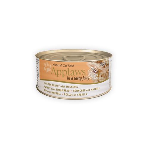 Applaws Jelly - Poulet et maquereau