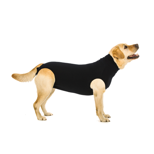 Suitical Recovery Suit Hund Plus - Schwarz