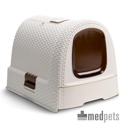 Curver Petlife Katzentoilette - Weiß