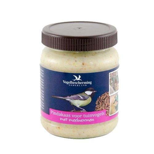 Vogelbescherming - Beurre de cacahuète pour oiseau - Vers de farine