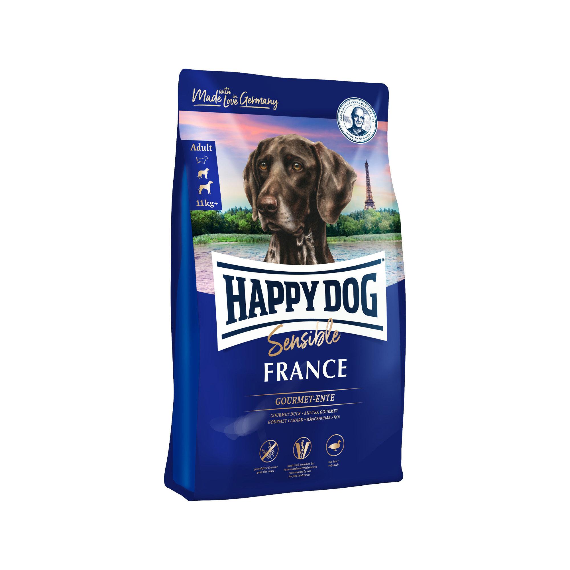 Happy Dog Supreme Sensible France Hundefutter