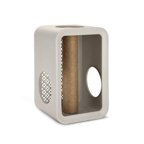 Beeztees Cat Cubes Scratch - Dune Grey