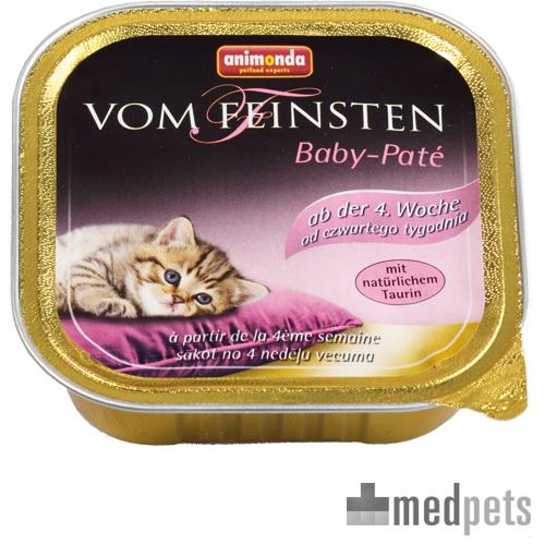 Animonda De Feinsten - Pâté pour chaton - Barquette