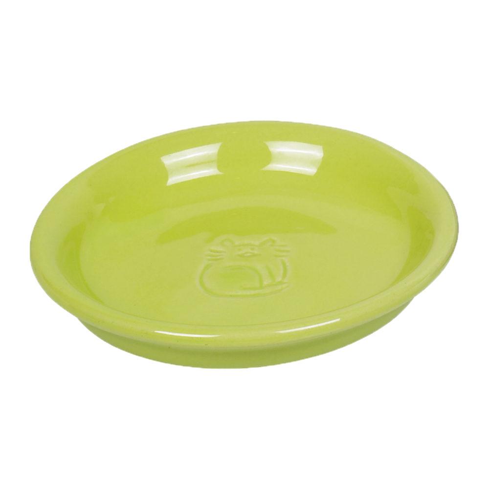 Nobby - Gamelle en céramique pour chat - Vert clair