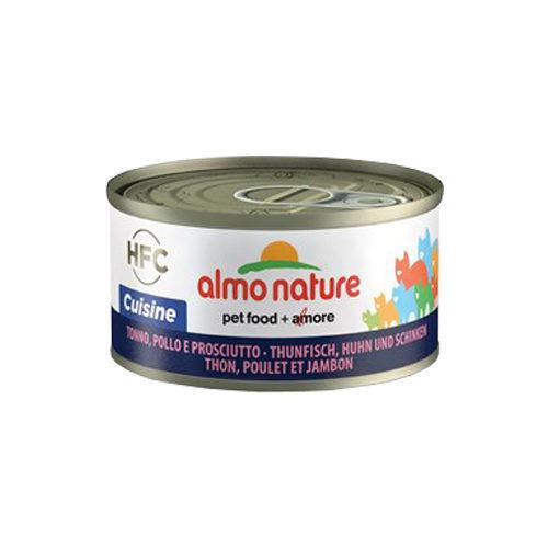Almo Nature HFC 70 Cuisine - Thon, poulet et jambon - 24 x 70 g