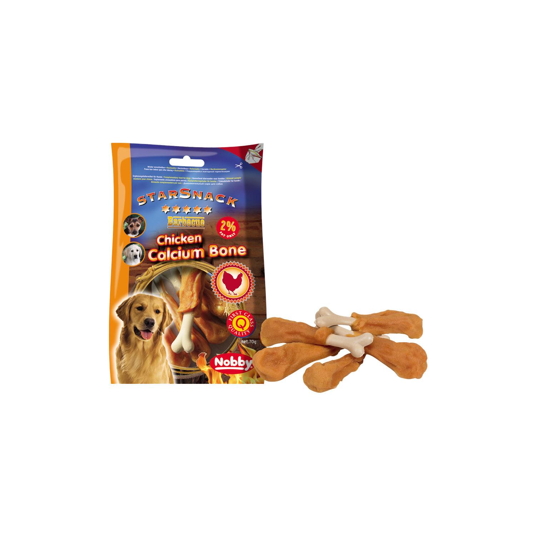 Nobby Starsnack BBQ - Chicken Calcium Bone