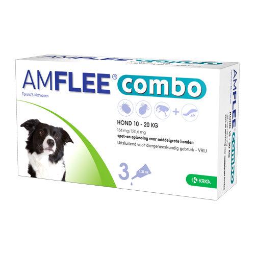 Amflee Combo Spot-on Hund 134 mg - 10- 20 kg