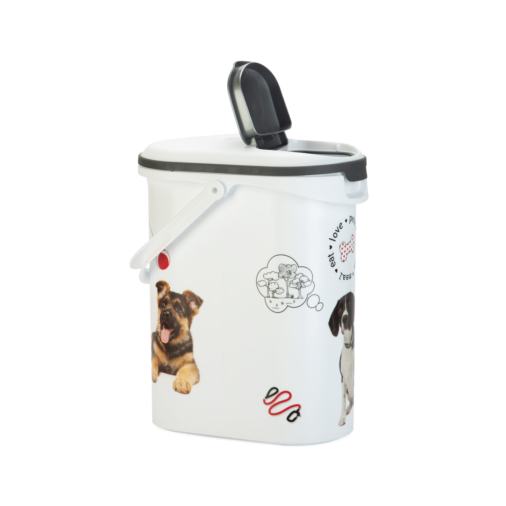 Curver Petlife Food Container Hund