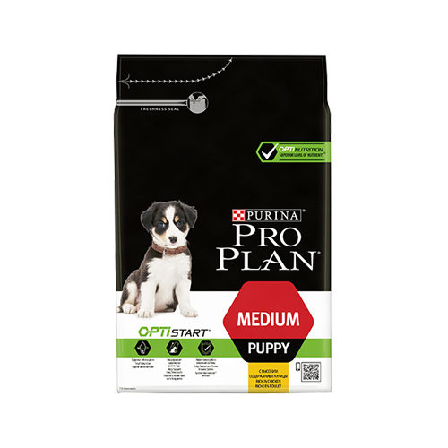 Purina Pro Plan Dog Medium Puppy Hundefutter - Huhn