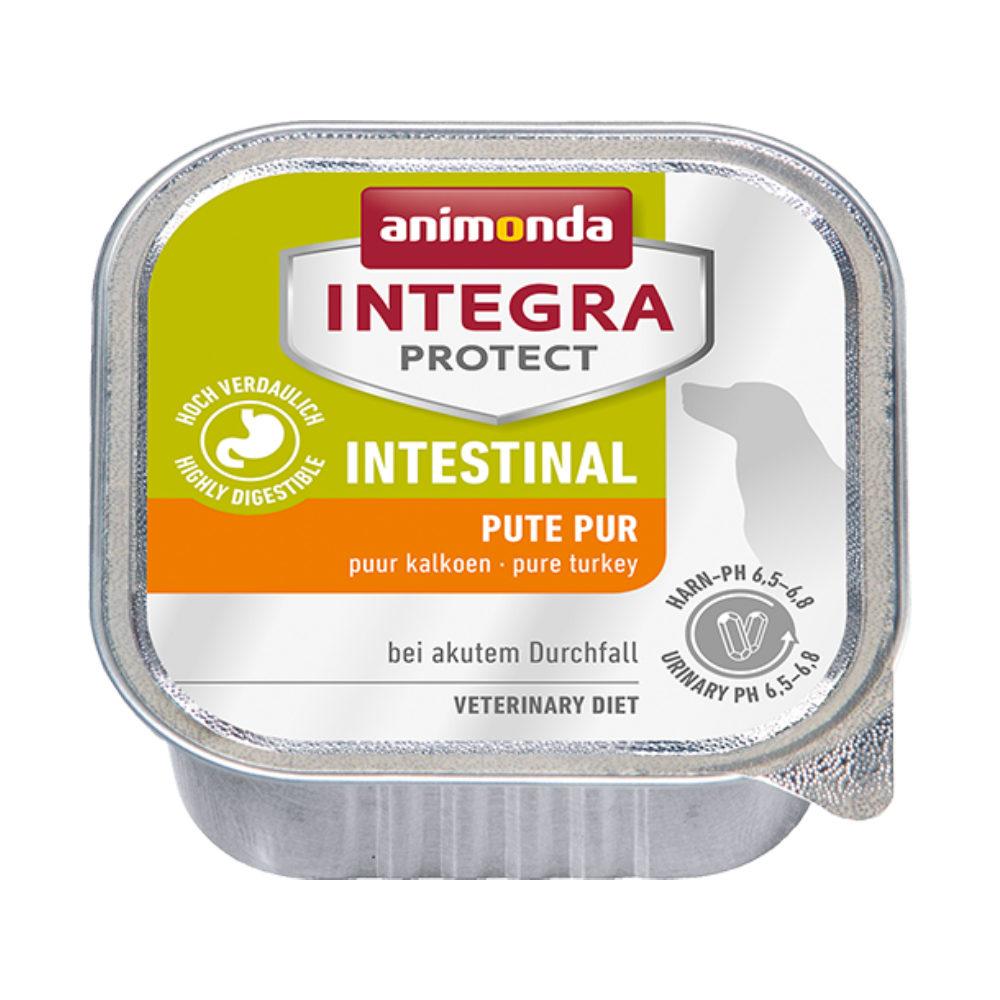 Animonda Integra Protect Intestinal Hundefutter - Schälchen - Pute - 11 x 150 g