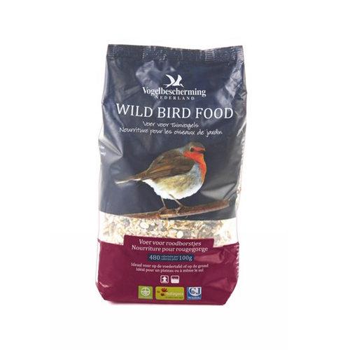 Vogelbescherming Streufutter für Rotkehlchen