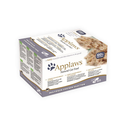 Applaws Multipack Katzenfutter - Frischebeutel - Chicken Selection