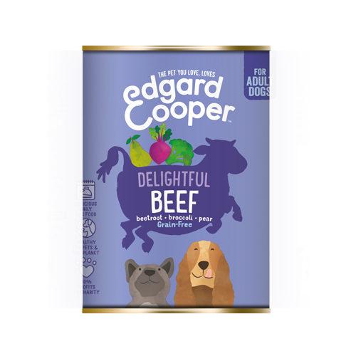 Edgard & Cooper Adult Hundefutter - Dosen - Rindfleisch