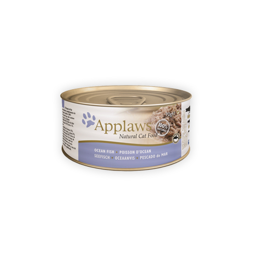 Applaws - Poisson de mer - Boîte - 24 x 156 g