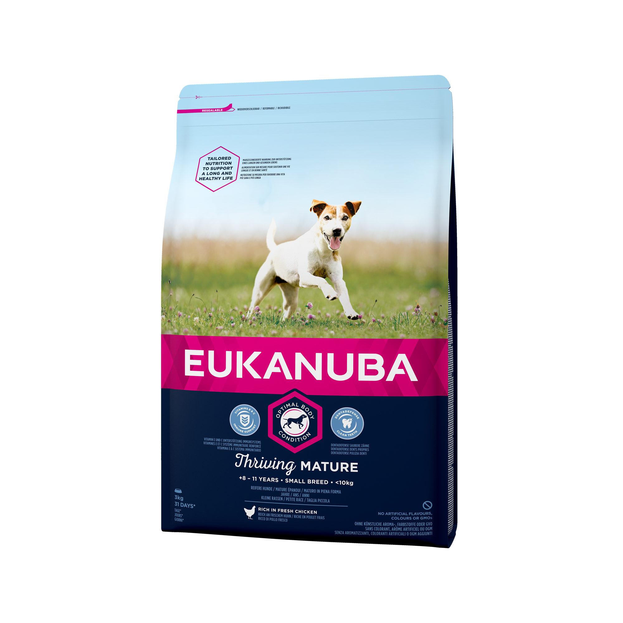 Eukanuba Thriving Mature Small Breed Hundefutter