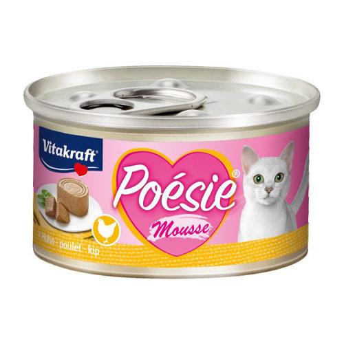 Vitakraft Poésie Mousse Katzenfutter - Dosen - Huhn