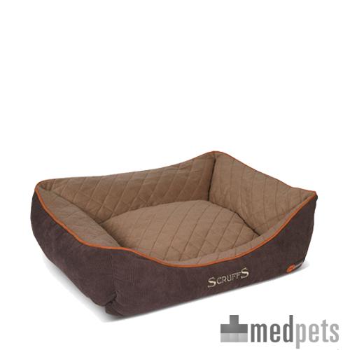 Scruffs Thermal Box Bed - Braun