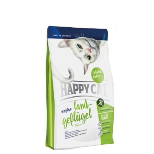 Happy Cat Sensitive Grainfree Katzenfutter - Land-Geflügel