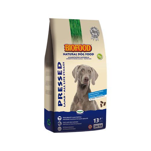 Biofood gepresstes Hundefutter - Lamm - 13,5 kg