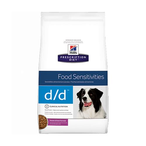 Hill's Prescription Diet d/d Food Sensitivities Hundefutter - Ente & Reis