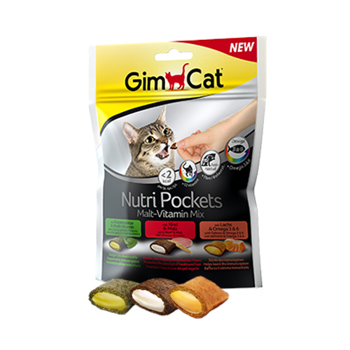 GimCat Nutri Pockets - Malt - Vitamin Mix
