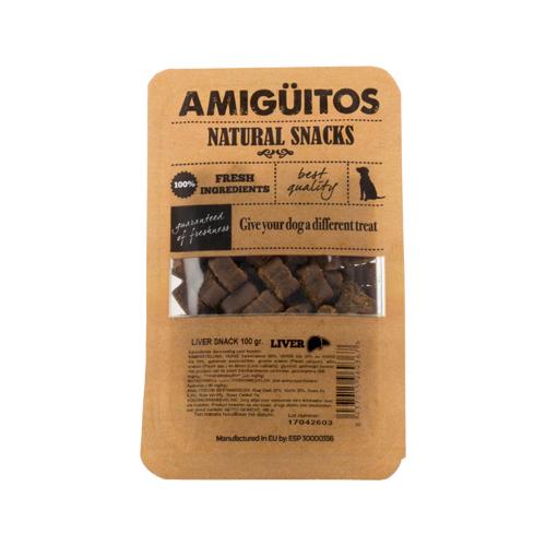 Amigüitos Snacks - Leber - 100 g