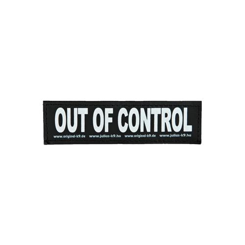 Julius K9 Labels - Petit format - Out of Control