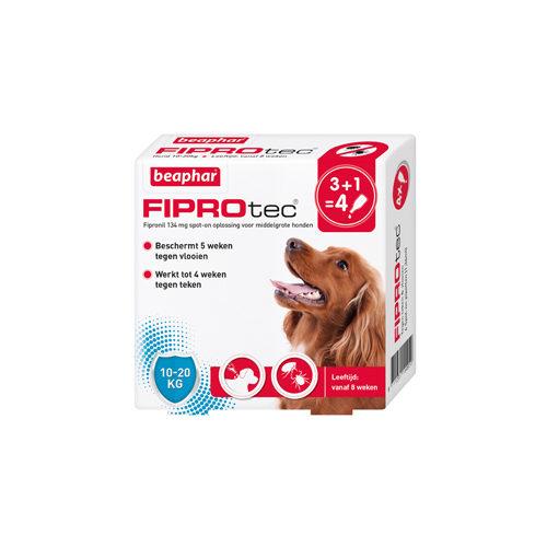 Beaphar FiproTec - Spot-On pour chien- 10 - 20 kg