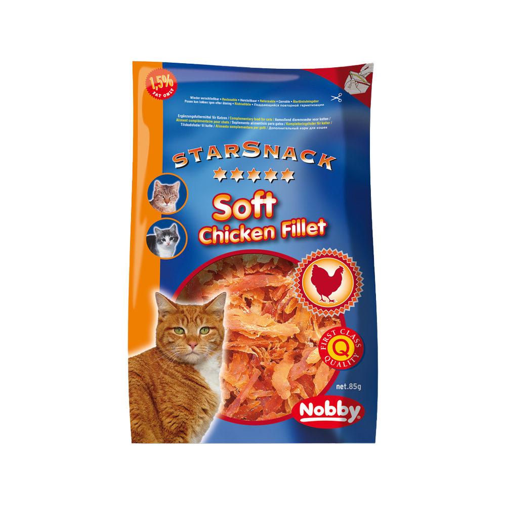 Nobby Cat Starsnack Soft Chicken Filet