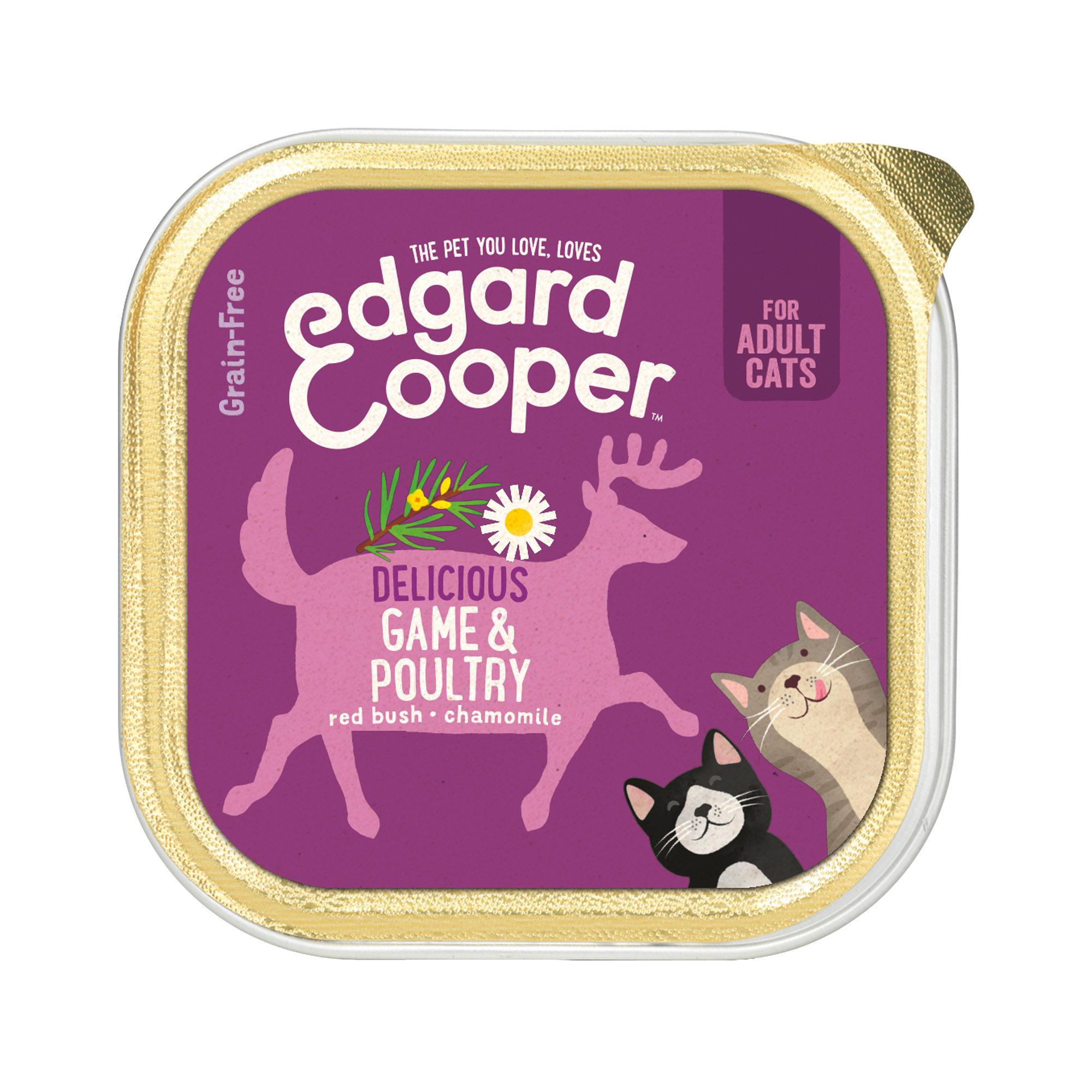 Edgard & Cooper Adult Katzenfutter - Schälchen - Wild & Geflügel