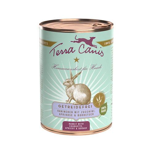 Terra Canis - Sans céréales - Lapin et courgette