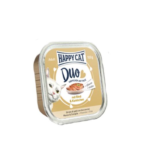 Happy Cat Duo Menu - Barquette - Bœuf et lapin
