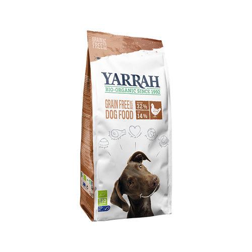 Yarrah Bio Getreidefreies Hundefutter - Hühnchen & Fisch