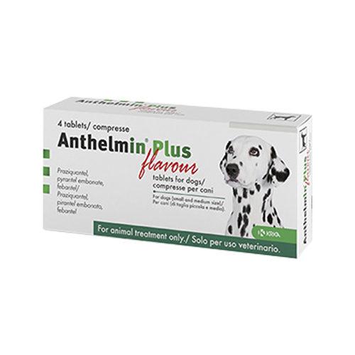 Anthelmin Plus - 4 Tabletten