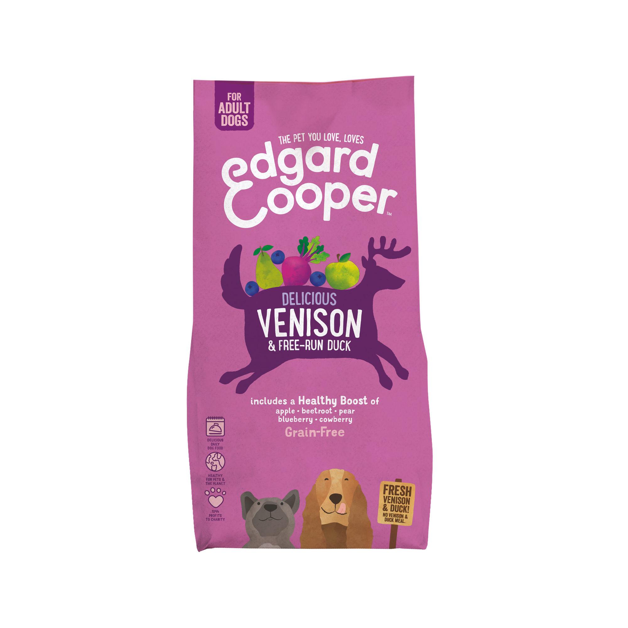 Edgard & Cooper Adult - Gibier et canard