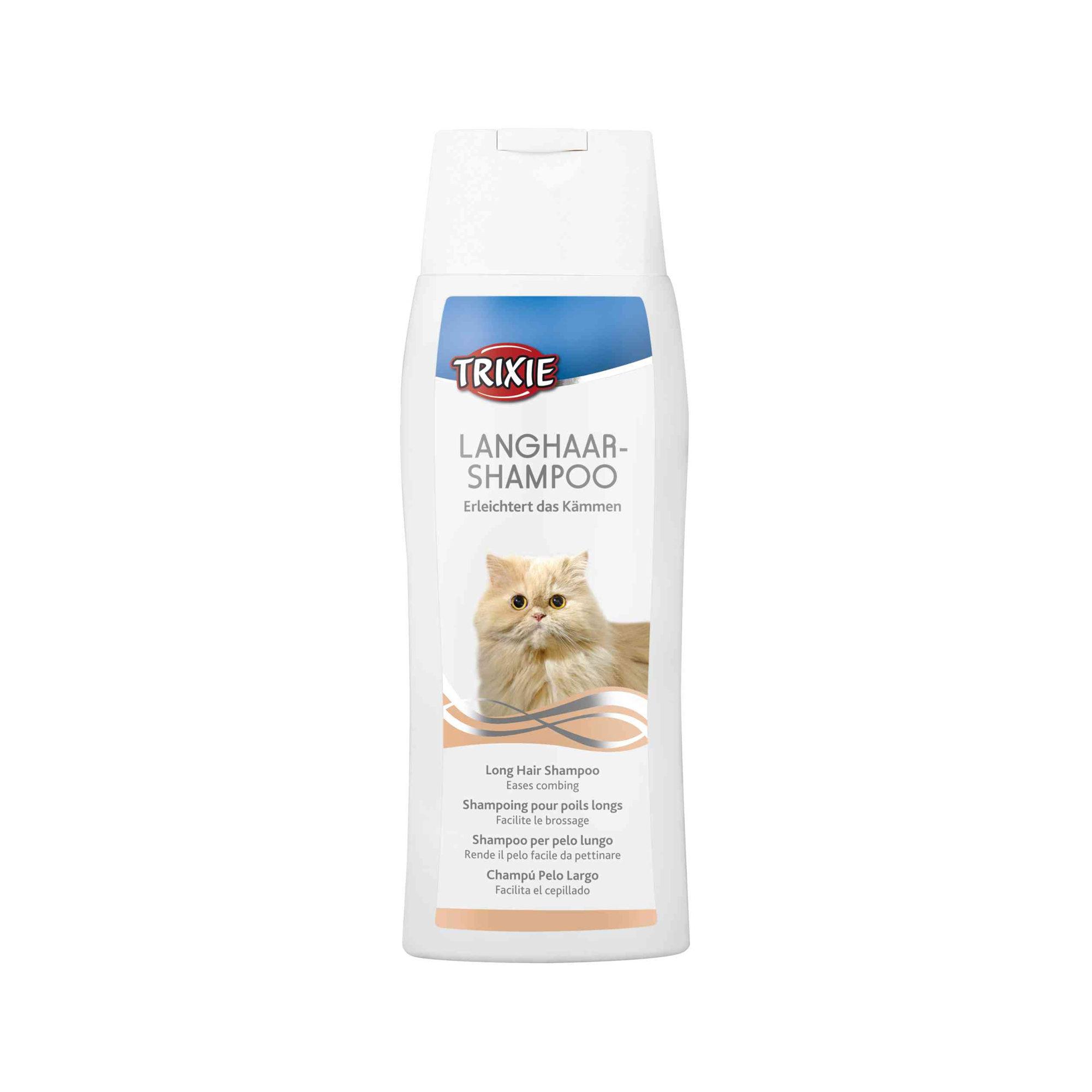 Trixie - Shampoing à poils long pour chat