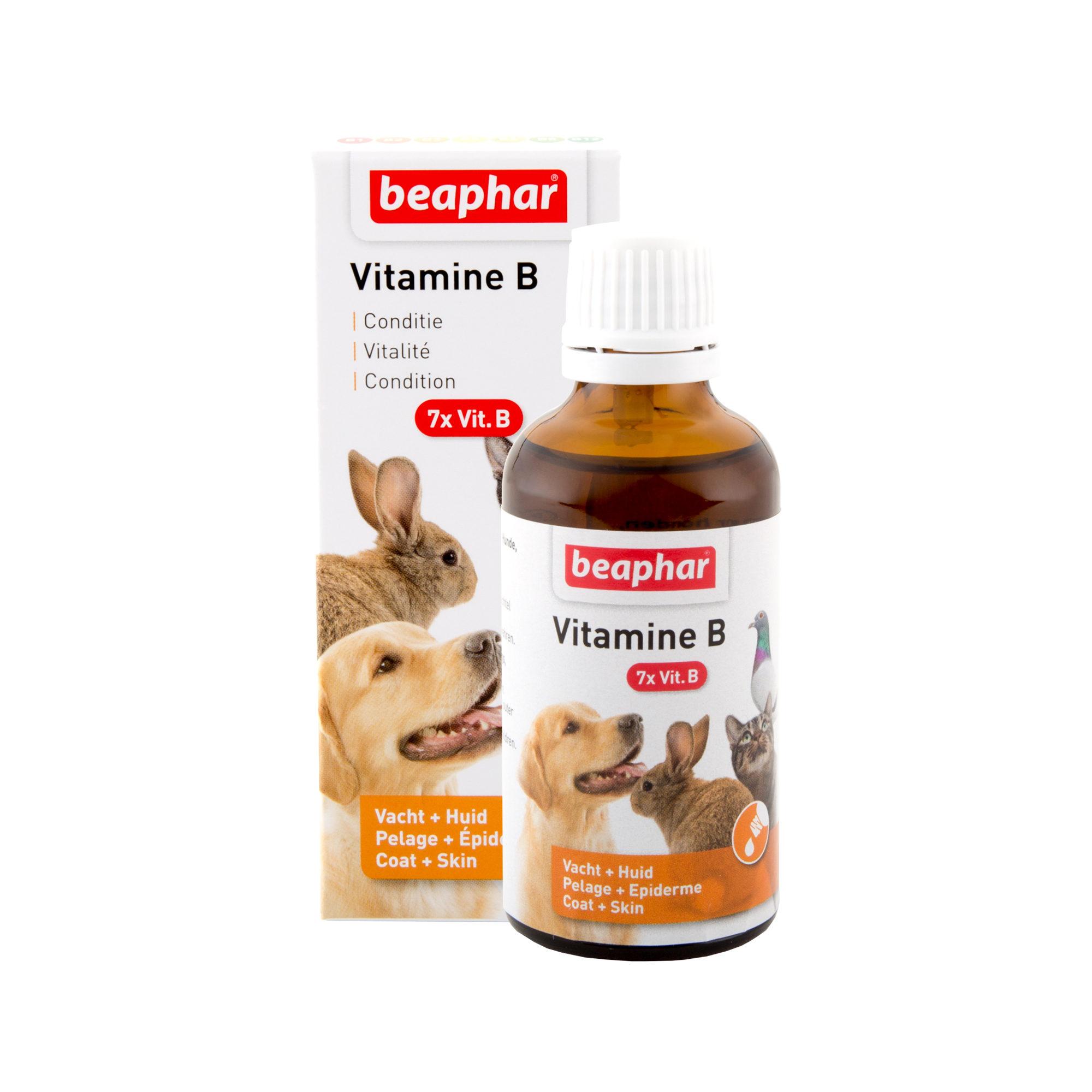 Beaphar Vitamin B-Complex (Vitamin-B Komplex) - 50 ml