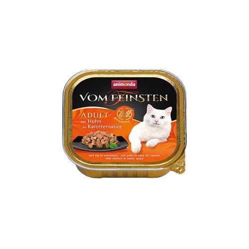 Animonda vom Feinsten Adult getreidefreies Katzenfutter - Schälchen - Huhn - 32 x 100 g
