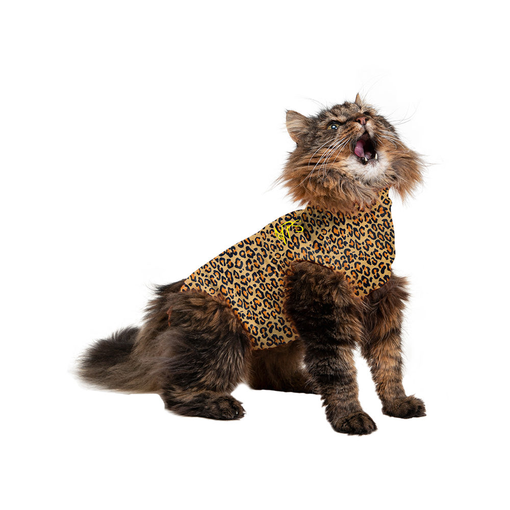 Medical Pet Shirt - Chat - Leopard