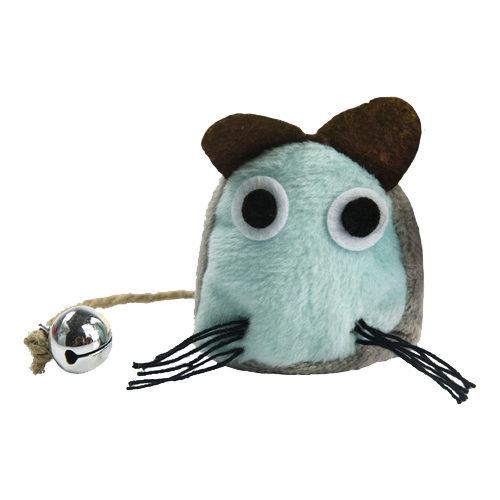 Crazy Cat Funny Mouse - Souris avec cataire - Bleu clair