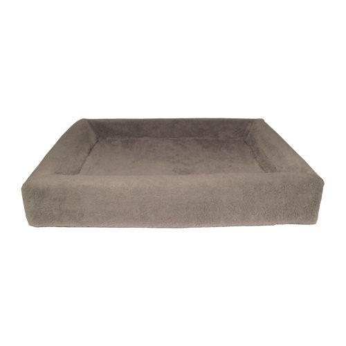 Bia Fleece-Bezug - Taupe - 100 x 120 cm