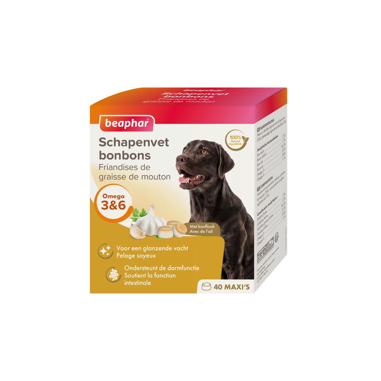 Beaphar Bio Haut- und Fellkur Bonbons - Knoblauch - 245 g