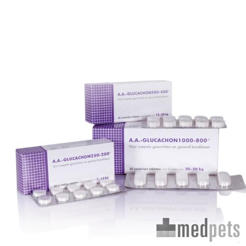 AA Glucachon - 500-400 - 30 Comprimés