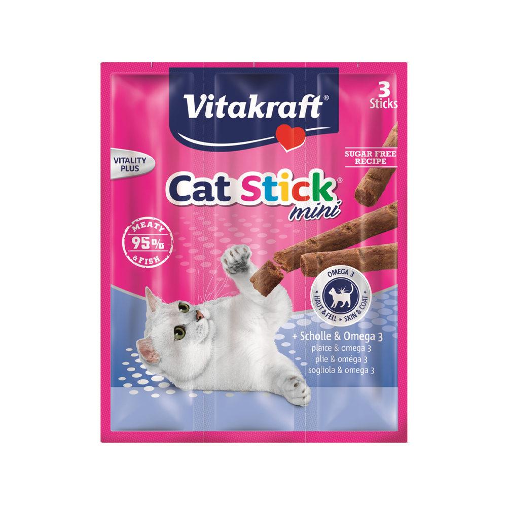 Vitakraft Cat Stick Mini - Plie et oméga 3