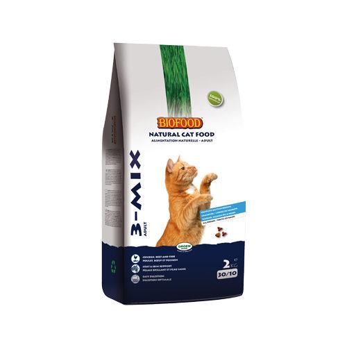Biofood 3-Mix Katzenfutter - 2 kg