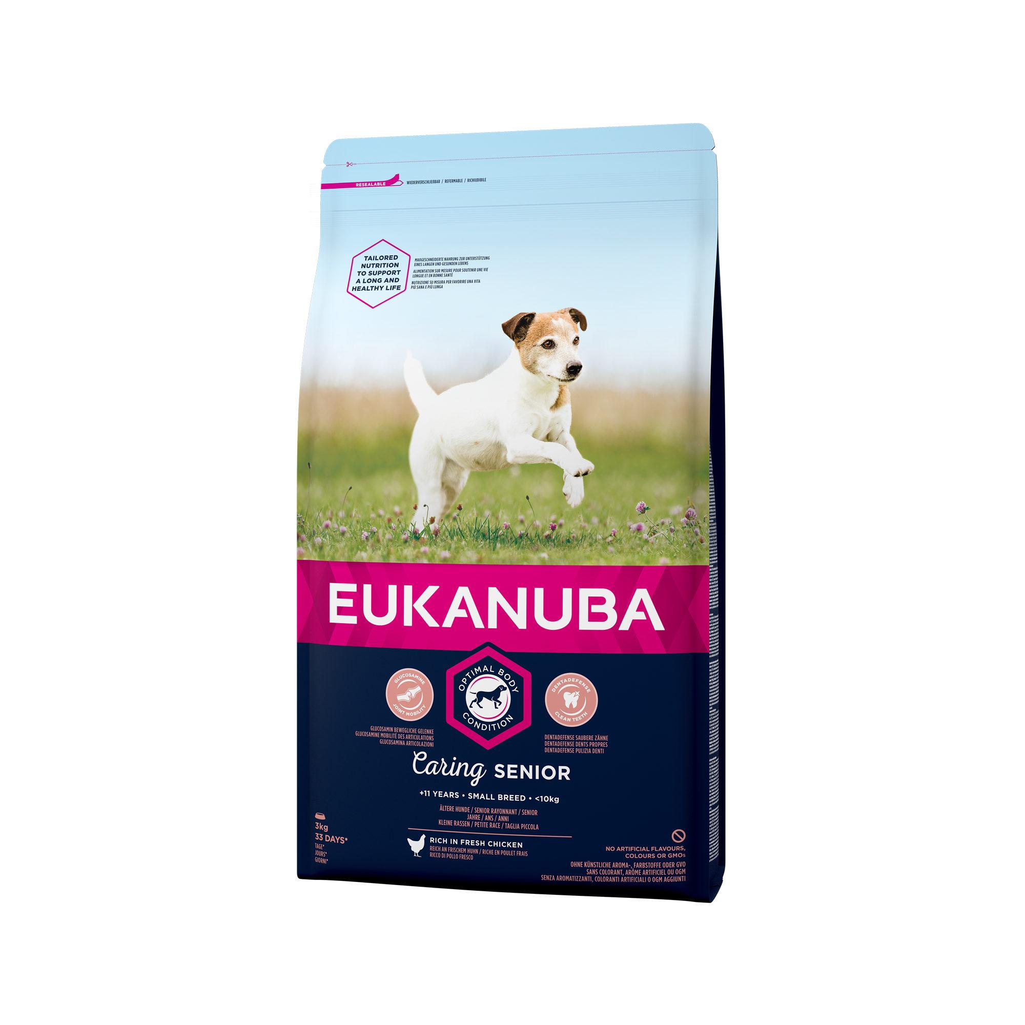Eukanuba Caring Senior Small Breed Hundefutter
